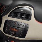 Fiat Linea facelift central console