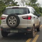 Ford EcoSport spied without camouflage in Brazil