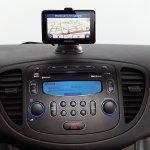 Hyundai i10 Sound Edition display on the dashboard
