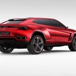 Lamborghini Urus rear