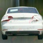 Skoda Superb facelift rear view