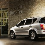 Ssangyong Rexton W rear three quarters