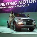 Ssangyong Rexton w busan motor show