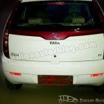 Tata Indica Vista 90bhp Quadrajet rear fascia
