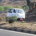 Tata Magic Iris CNG with four doors spyshot
