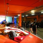Tata Vista Spain launch with HRT F1 car