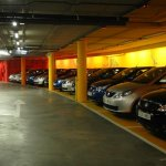 Tata Vista Spain launch - New models parked in the basement