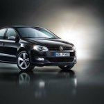 Volkswagen Polo Black Edition front three-quarters