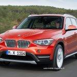 2015 BMW X1 rendering