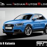 Audi Q2 rendering 2012