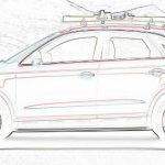 Audi Q3 Red Track side profile
