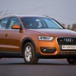Audi Q3 orange shade