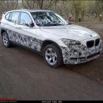 BMW X1 facelift test mule in India
