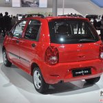 Chery QQ3 2012 rear three quarters