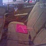 Chevrolet Sail U-VA rear seat