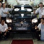 Chevrolet Trailblazer production begins in Thailand