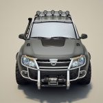 Customized Duster front