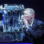 Ford-1.0-litre ecoboost engine Mr Alan Mulally