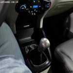 Ford EcoSport gearstick