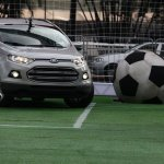 Ford EcoSport plays football in Brazil