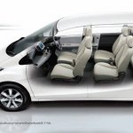 Honda Freed seating