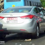 Hyundai Elantra caught uncamouflaged