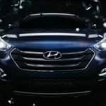 Hyundai Storm Edge Design Santa Fe 2013 video screen capture