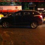 Hyundai Tucson being driven Kolkata