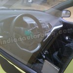 Kia Picanto in India dashboard LHD model