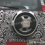 Mahindra Mini Xylo spare wheel