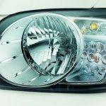 Mahindra Scorpip headlight