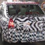 Mahindra Verito Facelift rear