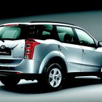 Mahindra XUV500 for Australia rear three quarters