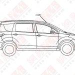 Maruti Suzuki Ertiga China patent leak