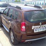 Renault Duster India back