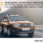 Renault Duster India pre-Launch