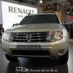 Renault Duster front Delhi Auto Expo 2012