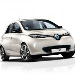 Renault Zoe front three quarters
