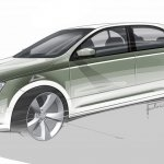Skoda Rapid European version sketch