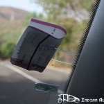 Skoda Yeti toll ticket holder