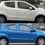 Suzuki Alto facelift for China side profile