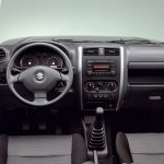 Suzuki Jimny facelift dashboard