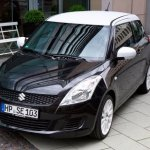 Suzuki Swift Black White