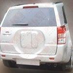Suzuki Vitara facelift for China rear