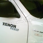 Tata Xenon Pickup badge driver's door