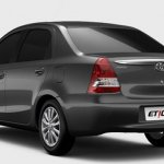 Toyota Etios sedan rear for Brazilian market