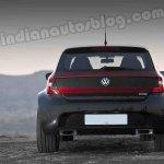 VW Polo DC Design rear