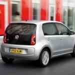 Volkswagen Up 5-door UK market rear