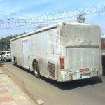 Volvo bus test mule rear