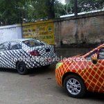 Chevrolet Sail twins testing in India
